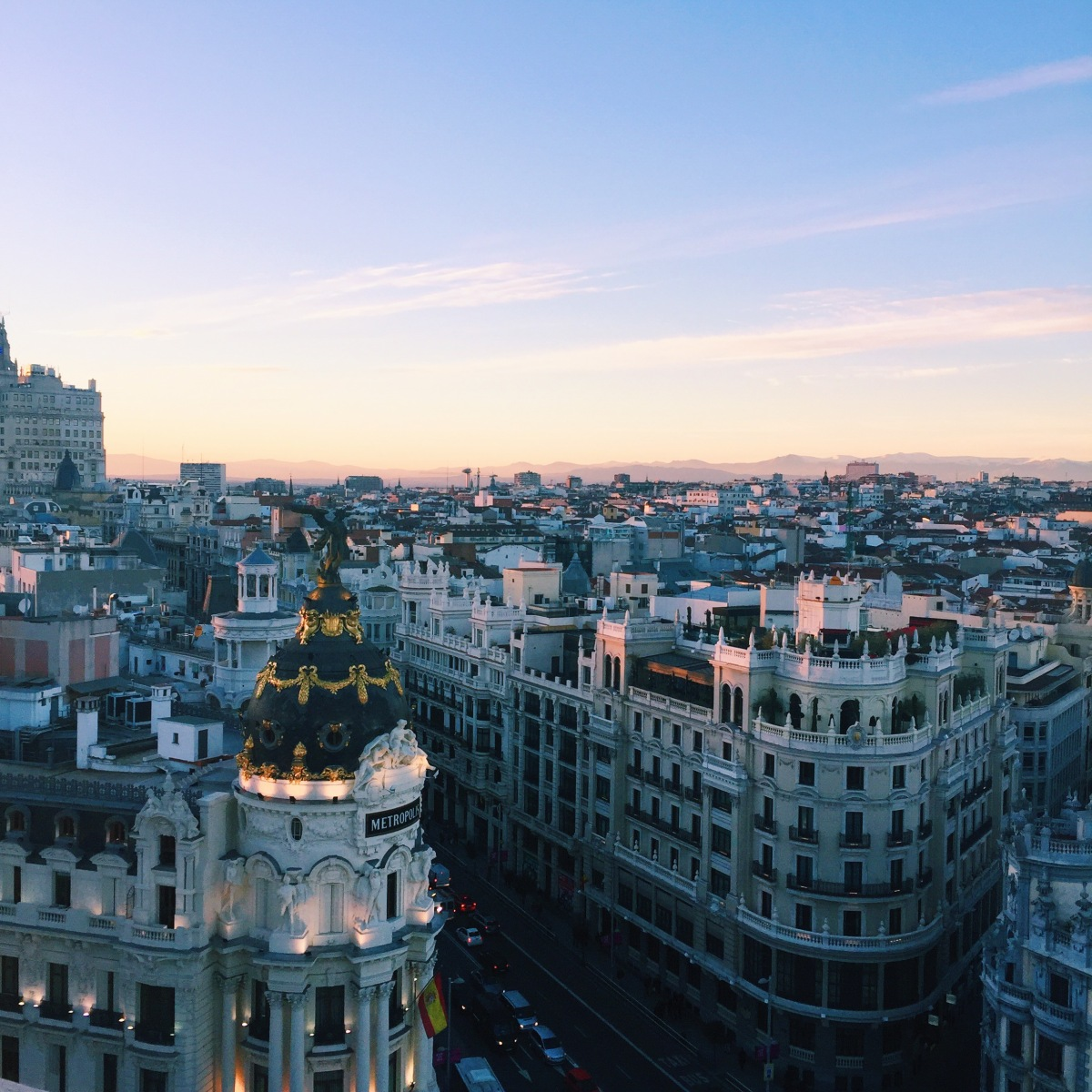 Falling in Love with Madrid